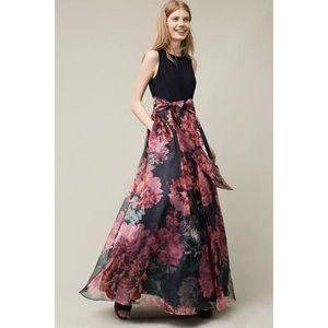 Anthropologie Moulinette Soeurs Floral Maxi Dress
